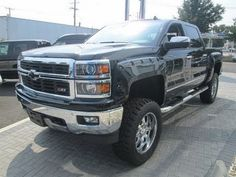 2014 Chevy Silverado 1500 LTZ Crew Cab Southern Comfort Apex Lifted Truck