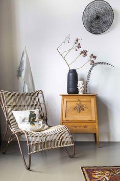 bamboo lounge chair. / sfgirlbybay