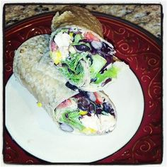 Skinny Eatz - Chipotle Chicken Salad Wrap - The Kitchen Table - The Eat-Clean Diet®
