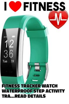 Fitness Tracker Watch Waterproof Step Activity Tracker with Heart Rate, Sleep Monitor Pedometer Calorie Counter Call/SMS Remind for Android and iOS by Cindynamo Best Fitness Tracker, Calorie Counter, Heart Rate, Monitor, Ios, Android, Sleep, Activities, Watches
