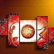 Картины и панно ручной работы. Ярмарка Мастеров - ручная работа Любовь неземная. Handmade.