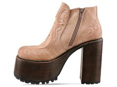 Jeffrey Campbell Prowl in Taupe at Solestruck.com
