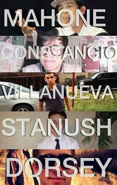 Austin Mahone, Alex Constancio, Robert Villanueva, Tyler Stanush, Zach Dorsey