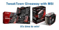 Global entry! We have teamed up with #MSI to give away an MSI Z270 GAMING M7 #motherboard and CORE FROZR L #CPU cooler. Check our Facebook or website for details! Good luck! More: http://www.tweaktown.com