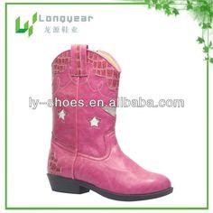 Modèle rose de cowboy de bottes de filles-Bottes-Id du produit:647491274-french.alibaba.com