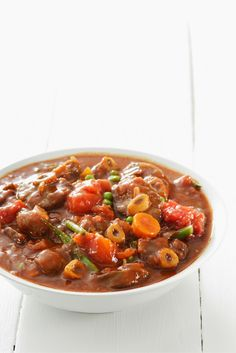 A good stew always tastes better the next day and this simple South African version, based on a traditional bredie, is no exception. Lamb Recipes, Meat Recipes, Vegetarian Recipes, Cooking Recipes, Healthy Recipes, Recipies, Oven Recipes, Curry Recipes, Coffee Recipes