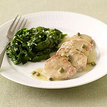 Weight Watchers Pork Piccata. Made it tonight and it's DELICIOUS! :)