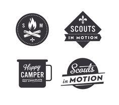 All sizes | Scout logos | Flickr - Photo Sharing! Design Studio, Type Design, Design Art, Logo Design, Design Hotel, Interior Design, Simon Walker, Logo Inspiration, Packaging Inspiration