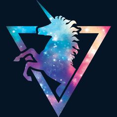 Galaxy Unicorn is a Zip Hoodie designed by Retkikosmos to illustrate your life and is available at Design By Humans