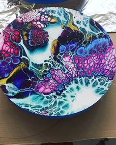 Acrylic Pouring Art, Acrylic Art, Pour Painting, Diy Painting, Acrylic Painting Inspiration, Panel Art, Resin Art, Ink Art, Art Techniques