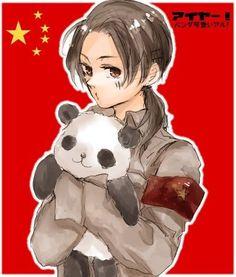 Ah I fricken love China China Hetalia, Hetalia Anime, Hetalia Fanart, Power Girl Cosplay, Hetalia Characters, Pop Culture References, Axis Powers, Imagines, Cat Drawing