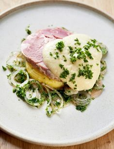 Richard Corrigan's recipe is a spin on the classic Irish dish that traditionally uses bacon – in this case it's cured pork collar. You'll need to order this from a butcher Richard Corrigan Recipes, Chef Recipes, Pork Recipes, Pork Pie Recipe, Pork N Beans, Slow Cooked Pork, Pork Meatballs, Crispy Pork, Midweek Meals