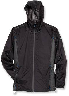 The Kuhl Parachute Jak -  lightweight jacket offers complete waterproof, breathable protection. Get it only at REI through 6/30/13