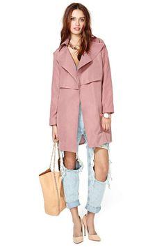 Incognito Trench Coat | Shop Jackets + Coats at Nasty Gal
