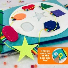 Learn Shapes Toddler Puzzle Quite Book Page  Educational Toys Activity Page