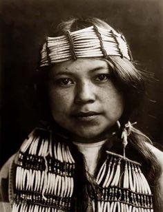 Indianer-Maedchen