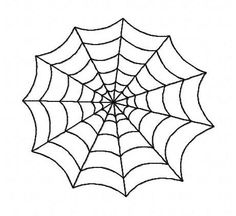 Halloween cobweb spiderweb machine embroidery design 2 inch instant download by BelsEmbroidery