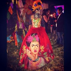Day of the Dead costume.