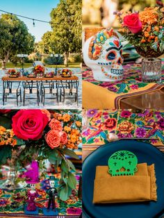Our Wedding, Destination Wedding, Wedding Stuff, Mexican Wedding Decorations, Mexican Birthday Parties, Day Of The Dead Party, October Wedding, Wedding Bouquets, Wedding Dresses