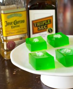 Margarita Jello Shots | Culinary Cool