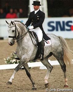 Robert Dover on Rainer. The George Morris of the dressage world