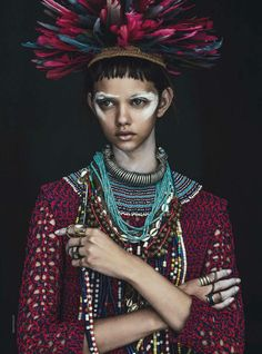 Marina Nery by Sebastian Kim for Vogue Australia April 2014