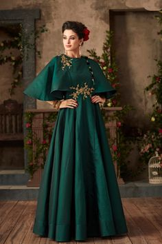 Sea-Green-Satin-Embroidery-Work-Floor-Length-Stylish-Sleeves-Event-Wear-Gown-18001-33668 Whatsapp :- +91 9377709531 #wholesale #bulk #wholesalesupplier #wholesaledealer #bulksupplier #bulkdealer #silk #partywear #dress #anarkalistyle #gowns #weddingwear #desinger #gown  #surat  #lkfabkart