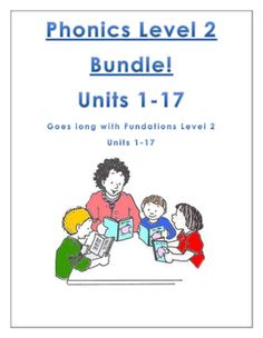 Fundations level 2 units 1-17: Fundations level 2 supplements for the entire year! I hope you find this resource useful. Use it for…
