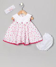 Pink Floral Dress Set - Infant by Shanil #zulily #zulilyfinds