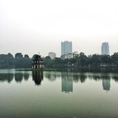 Reflections in Hoàn Liếm lake :) #reflections #selfawareness #hoankiem #hoankiemlake #hanoi #hanoiwander