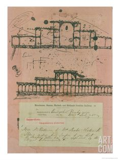 Great Exhibition, 1851: First Sketch for the Building, 1850 Giclee Print