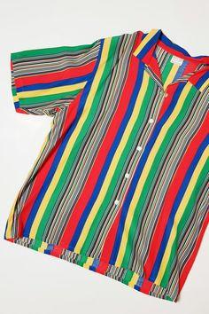 fashion for men, striped shirt, comeback, 90s Fashion, Streetwear, Unisex, Shirts, Vintage, Tops, Women, Style, Shell Tops