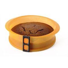 Silikonová forma na dort se skleněným dnem 23 cm průměr Sweet Recipes, Healthy Recipes, Healthy Food, Garden Pots, Dog Bowls, Tray, Diet, Healthy Foods, Garden Planters