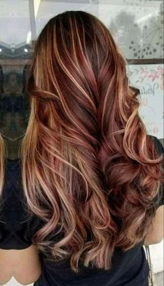 Hair color hair color for summer red hair gray hair hair color hair color for Hair Color Ideas For Brunettes Color gray Hair red Summer Red Hair Color, Hair Color Balayage, Brown Hair Colors, Fall Hair Colors, Blonde Balayage, Red Hair With Ombre, Ombre Hair, Blonde Fall Hair Color, Trendy Hair Colors