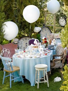 Alice im Wunderland - Baby Party