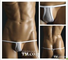 TM men's sexy narrow front g-string underwear  - 4 colors available #TM #Gstring