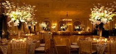 Beautiful! Exactly what I want!  Reception in Grand Ballroom, Yale Club