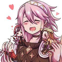 Soleil with second gen Nohr girls