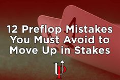 preflop poker mistakes you must avoid in no limit holdem Retirement Strategies, Most Played, Intresting Facts, Poker Face, You Must, Mistakes, Hold On, Improve Yourself, Education