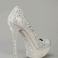 Wedding Shoes Pumps Bling Sparkly Heels For 2019 High Heels Boots, Shoe Boots, Shoes Heels, Stiletto Shoes, Louboutin Shoes, Flat Shoes, Converse Shoes, Oxford Shoes, Shoes Sneakers