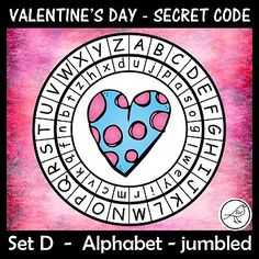 A super-fun activity for Valentine's Day. Make these secret code wheels and use them to write a secret message/card for someone special. Included: ♦ 15 templates (different pictures in each wheel). ♦ Joke - for your Coding For Kids, Secret Code, Teacher Notes, Message Card, Interactive Notebooks, Print Templates, Task Cards, Math Centers, Fun Activities