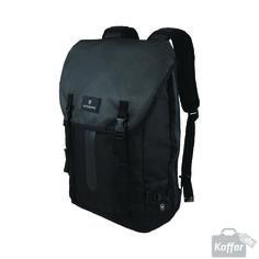 Victorinox Altmont 3.0 Flapover Drawstring Laptop Backpack Black