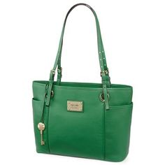 I just bought this purse and I love it! nicole by Nicole Miller® Ava Leather Tote - jcpenney