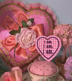 """FEVER DREAM BOUTIQUE """"I am, I am, I am."""" Sylvia Plath quote from the Bell Jar ~ pink gingham patch with purple embroidery ~ embroidered kawaii vintage valentine embellished engraved chocolate box pastel goth victorian mantle decor tea cup kitsch setup floral flowers roses peony handmade indie independent designer cute larme fairy kei"""