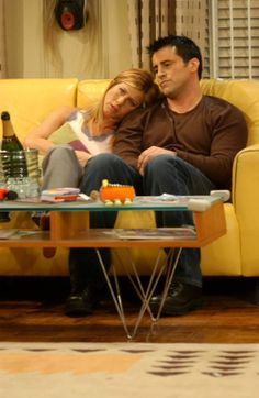 Rachel  Joey...i love this episode