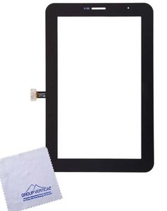 "Group Vertical® Black Touch Screen Display Digitizer Front Glass Replacement for Samsung Galaxy Tab 2 7"" P3100 3G + WiFi Tablet - New Release Tablets And Tablet Accessories"