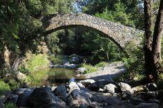 Pont génois en Costa Verde Culture, Photos, Dolphins, Mediterranean Sea, Bridge, Landscapes, Earth, Travel, Pictures
