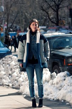 - make your own puffer jacket out of other second hand puffer jackets