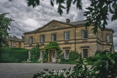 Middleton Lodge - the Main House in August