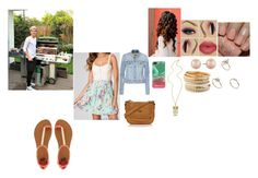 BBQ with niall by irissalmeron on Polyvore featuring polyvore, fashion, style, Paige Denim, 2b bebe, Mantaray, ASOS and Carolee